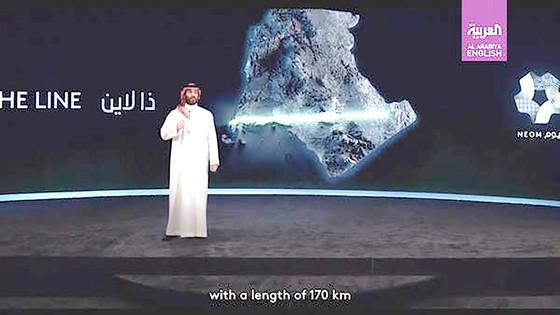 Thành phố không carbon ở Saudi Arabia ảnh 1