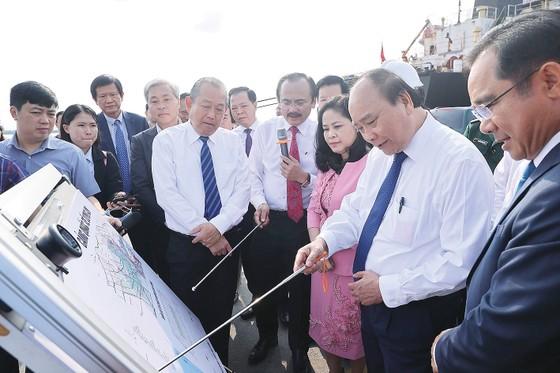 Khánh thành KCN cầu cảng Phước Đông ảnh 1