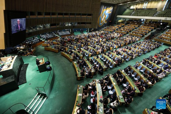 Kỳ họp Đại hội đồng Liên hiệp quốc khóa 76: Tinh thần chia sẻ nhân văn giúp thế giới vượt qua đại dịch ảnh 2