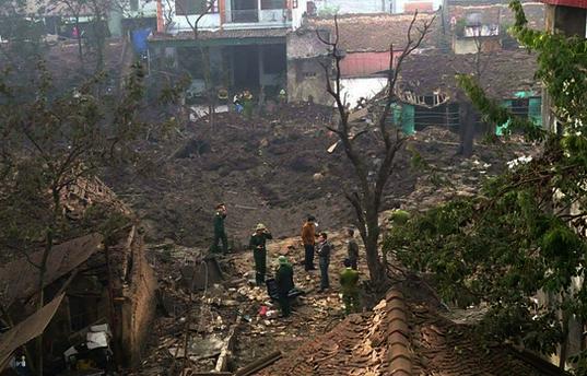Bắc Ninh: Nổ lớn tại cơ sở mua phế liệu, nhiều người thương vong ảnh 1