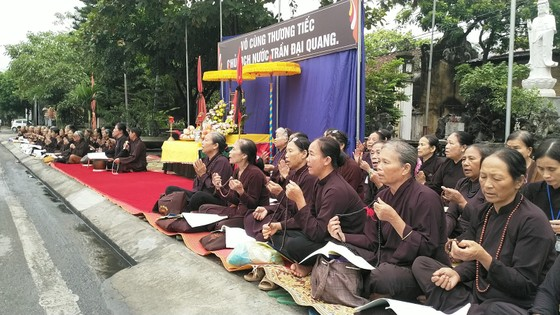 Truy điệu trọng thể Chủ tịch nước tại xã Quang Thiện - Đất mẹ quê hương ngóng mong ảnh 7