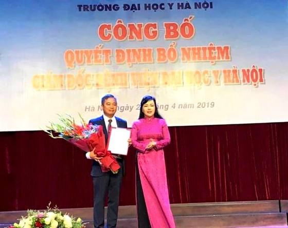 PGS.TS Nguyễn Lân Hiếu được bổ nhiệm Giám đốc BV Đại học Y Hà Nội ảnh 1