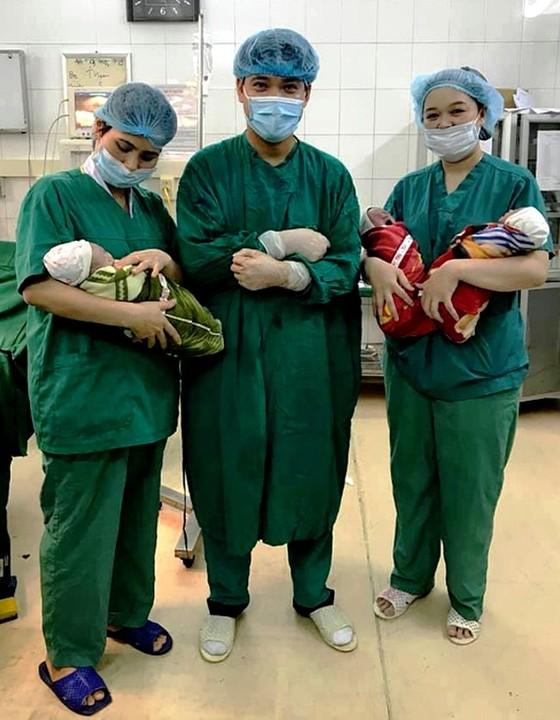 Thai phụ ở Tuyên Quang sinh 3 cùng trứng cực hiếm trên thế giới ảnh 1