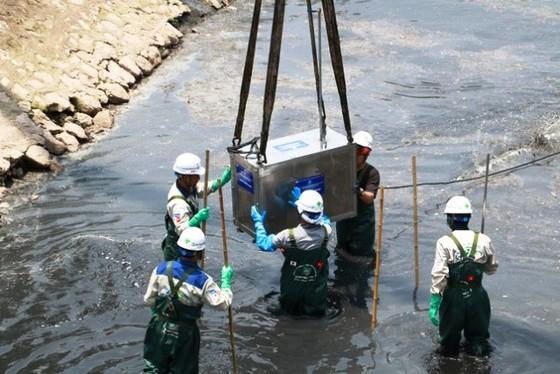 Đơn vị làm sạch sông Tô Lịch bị nhắc nhở, yêu cầu rút kinh nghiệm ảnh 2