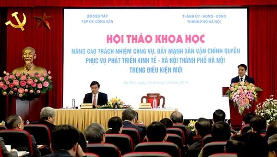Chủ tịch UBNDTP Hà Nội chỉ rõ nhiều thói hư của cán bộ cấp dưới  ảnh 1