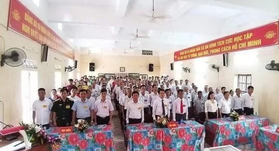 Tổ trưởng kiểm phiếu gian lận, một xã ở Thái Bình phải tổ chức lại đại hội ảnh 1