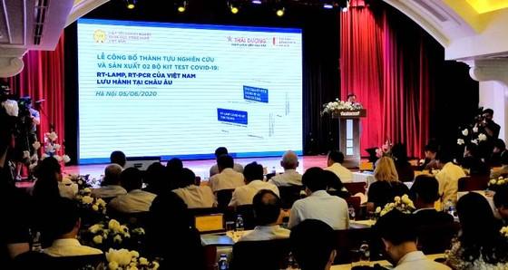 Ra mắt 2 bộ kit chẩn đoán Covid-19 của Việt Nam được lưu hành ở châu Âu ảnh 1