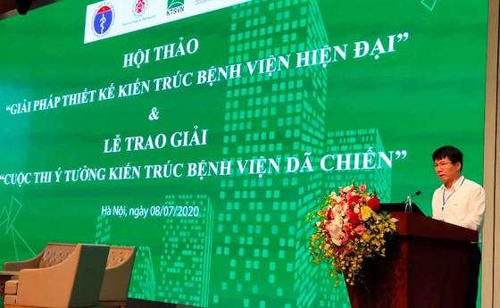 Thiết kế kiến trúc bệnh viện ở Việt Nam phải vì người bệnh ảnh 1