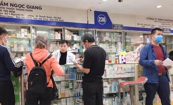 Người có triệu chứng cảm cúm, ho sốt khi mua thuốc phải khai báo về bản thân ảnh 1