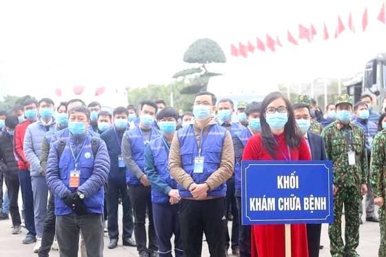 Bộ Y tế xuất quân, diễn tập phục vụ Đại hội Đảng ảnh 3