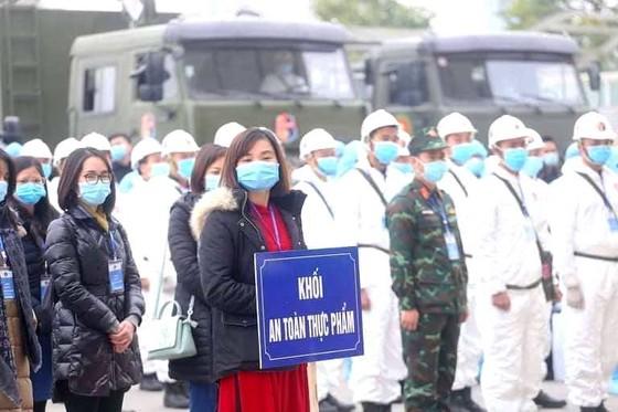 Bộ Y tế xuất quân, diễn tập phục vụ Đại hội Đảng ảnh 2
