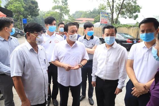 2 công nhân ở Khu Công nghiệp Thăng Long dương tính với SARS-CoV-2, khoanh vùng 3 cấp độ ảnh 1