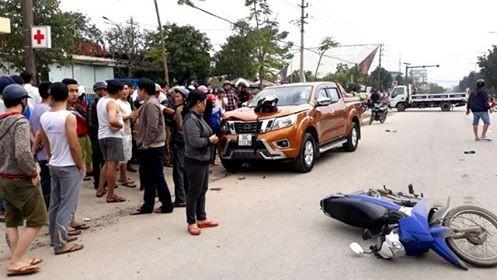 Đại úy CSGT bị ô tô tông khi làm nhiệm vụ đã qua cơn nguy kịch ảnh 2