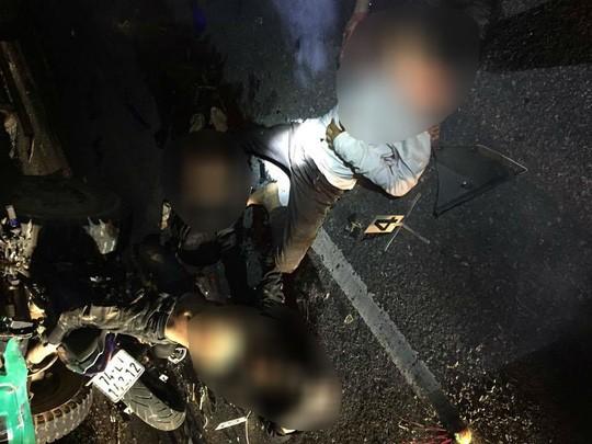 Tông ô tô bên đường khiến 4 nam sinh ở Quảng Trị tử vong ảnh 1