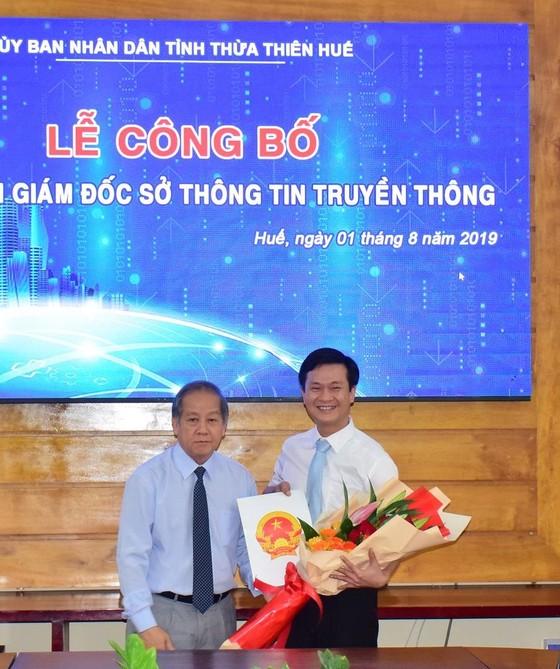 Ông Nguyễn Xuân Sơn làm Giám đốc Sở TT-TT tỉnh Thừa Thiên – Huế ảnh 1