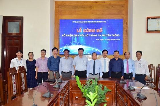 Ông Nguyễn Xuân Sơn làm Giám đốc Sở TT-TT tỉnh Thừa Thiên – Huế ảnh 2