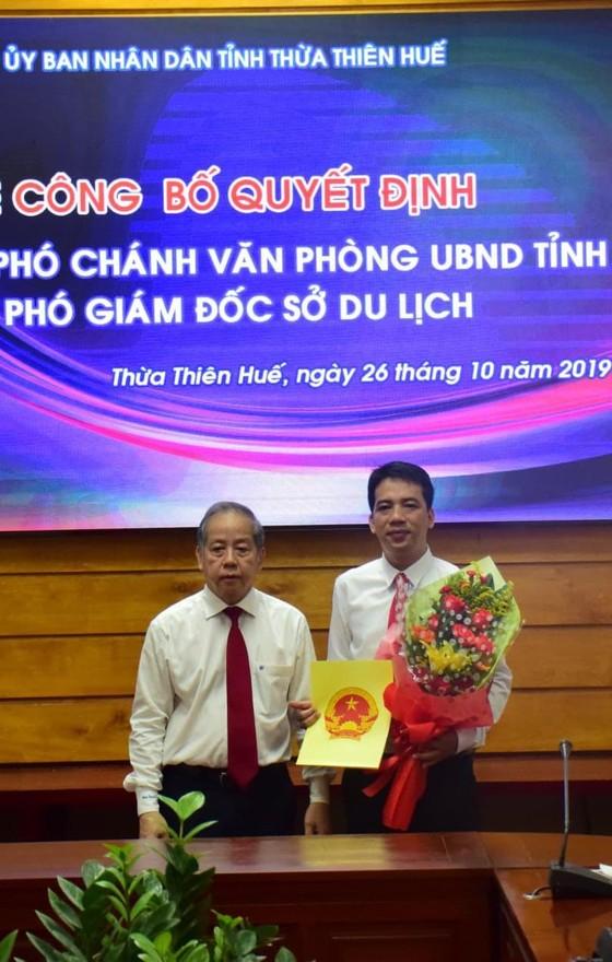 Bổ nhiệm ông Phan Lê Hiến làm Phó Chánh Văn phòng UBND tỉnh Thừa Thiên – Huế ảnh 1