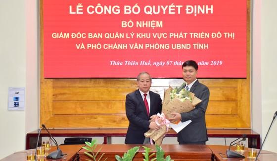 Ông Hoàng Việt Cường làm Phó Chánh Văn phòng UBND tỉnh Thừa Thiên – Huế ảnh 1