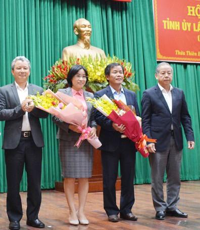 Ban Bí thư chuẩn y 2 Ủy viên Ban Thường vụ Tỉnh ủy Thừa Thiên - Huế ảnh 1