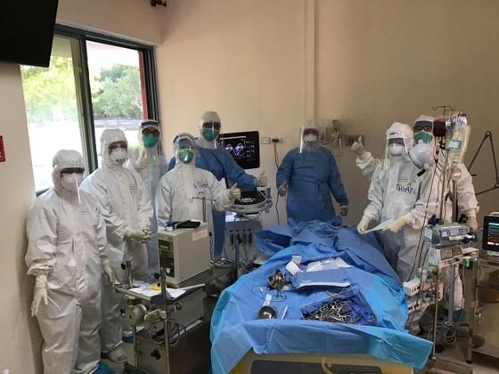 Bệnh viện Trung ương Huế cơ sở 2 đang tích cực điều trị cho 6 bệnh nhân mắc Covid-19 còn lại ảnh 2