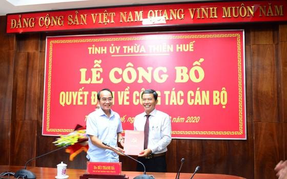Điều động và bổ nhiệm nhiều cán bộ chủ chốt tại Thừa Thiên – Huế ảnh 3