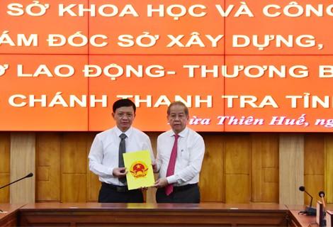 Điều động và bổ nhiệm nhiều cán bộ chủ chốt tại Thừa Thiên – Huế ảnh 2