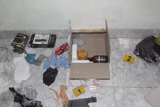 Phá chuyên án 119D, bắt 2 đối tượng cùng số lượng lớn ma túy tại Huế ảnh 3