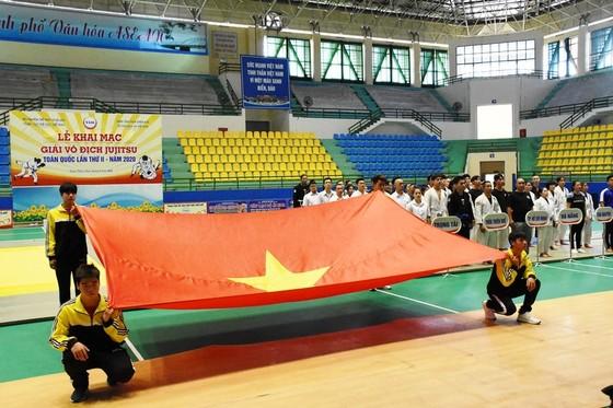 Khai mạc Giải Vô địch Jujitsu toàn quốc năm 2020 ảnh 1