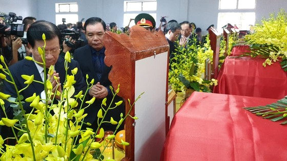 Xúc động lễ truy điệu 13 liệt sĩ hy sinh khi làm nhiệm vụ cứu nạn thủy điện Rào Trăng 3 ảnh 3