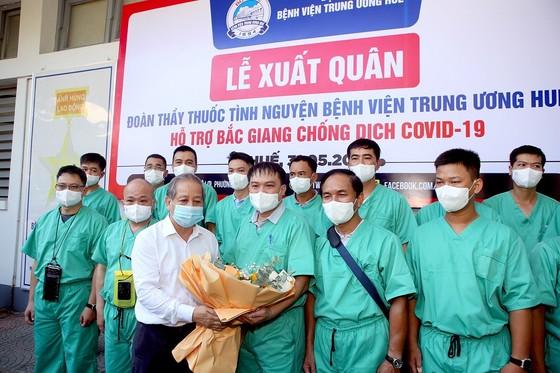 Đoàn y, bác sĩ Bệnh viện Trung ương Huế ra Bắc Giang hỗ trợ chống dịch Covid-19 ảnh 1