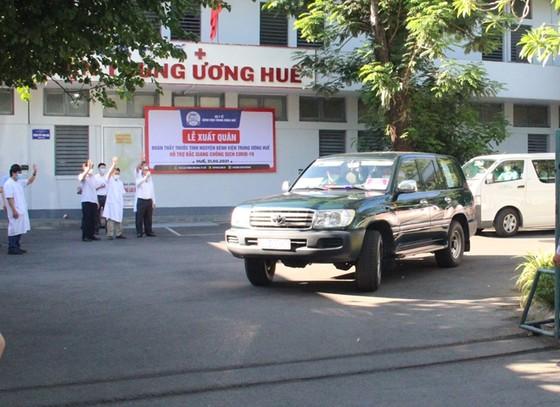 Đoàn y, bác sĩ Bệnh viện Trung ương Huế ra Bắc Giang hỗ trợ chống dịch Covid-19 ảnh 3