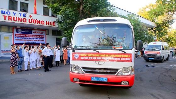 Nhiều địa phương miền Trung đưa đoàn y, bác sĩ tình nguyện tham gia hỗ trợ TPHCM chống dịch Covid-19 ảnh 3