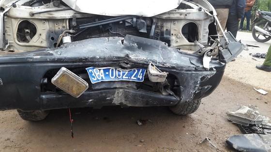 Va chạm giữa xe ô tô và xe máy, 3 người tử vong ở Hà Tĩnh ảnh 3