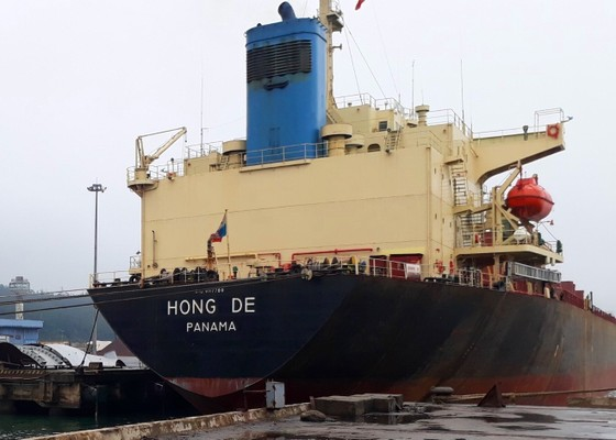 Cảng Vũng Áng, Hà Tĩnh đón nhiều tàu trọng tải lớn đầu năm 2018 ảnh 3