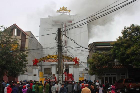 Cháy lớn tại Karaoke Kingdom Club ở Hà Tĩnh ảnh 3