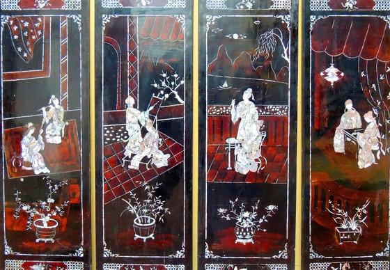 Sưu tầm được bộ tranh sơn mài về chuyện tình Kim - Kiều ảnh 1