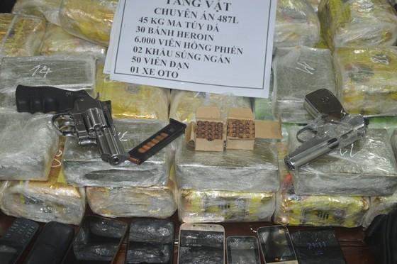 Triệt phá đường dây ma túy xuyên quốc gia, thu giữ số lượng lớn ma túy và vũ khí ảnh 2