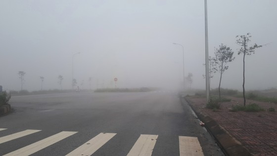 Sương mù phủ kín ở Hà Tĩnh ảnh 12