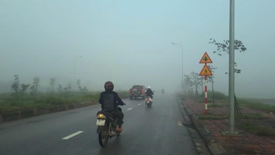 Sương mù phủ kín ở Hà Tĩnh ảnh 5