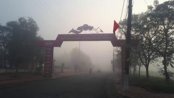 Sương mù phủ kín ở Hà Tĩnh ảnh 3