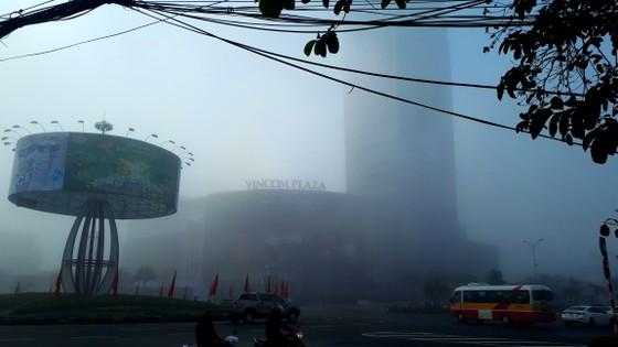 Sương mù phủ kín ở Hà Tĩnh ảnh 1