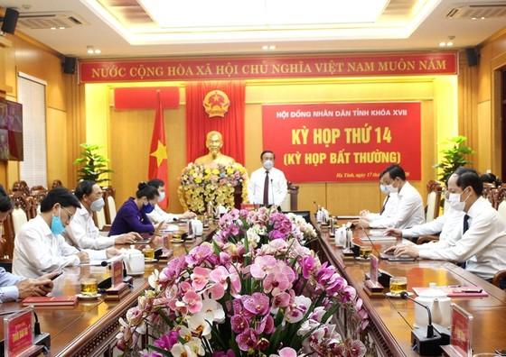 Ông Nguyễn Hồng Lĩnh được bầu giữ chức Phó Chủ tịch UBND tỉnh Hà Tĩnh ảnh 1