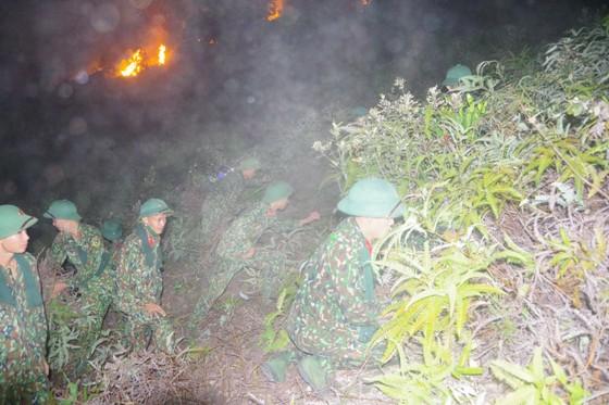 Cơ bản khống chế được đám cháy rừng ở Hà Tĩnh ảnh 12