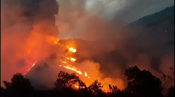 Cơ bản khống chế được đám cháy rừng ở Hà Tĩnh ảnh 7