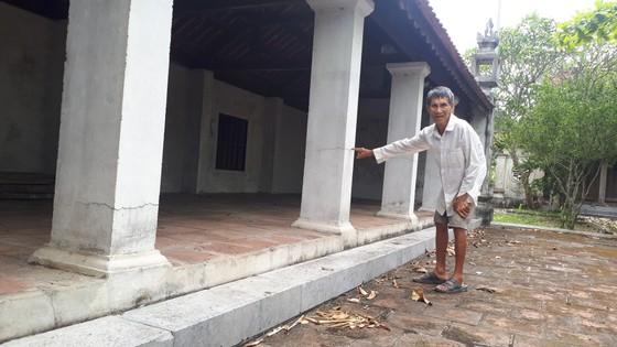 Di tích đình Hội Thống và đình làng Trường Lưu ở Hà Tĩnh hư hỏng nặng ảnh 3