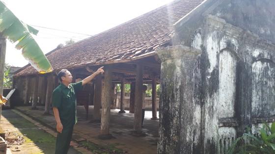 Di tích đình Hội Thống và đình làng Trường Lưu ở Hà Tĩnh hư hỏng nặng ảnh 6
