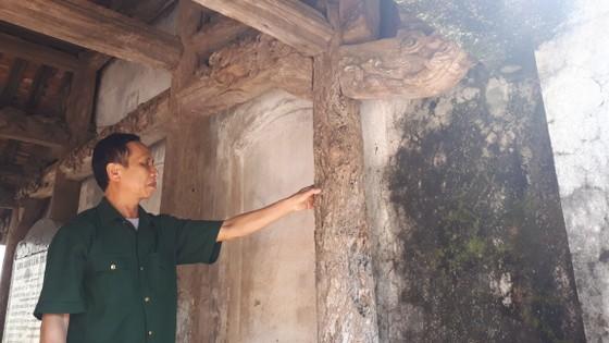 Di tích đình Hội Thống và đình làng Trường Lưu ở Hà Tĩnh hư hỏng nặng ảnh 8