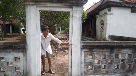 Di tích đình Hội Thống và đình làng Trường Lưu ở Hà Tĩnh hư hỏng nặng ảnh 4