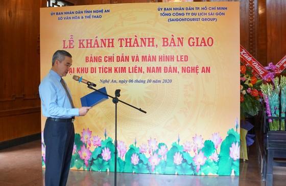 Saigontourist Group khánh thành, bàn giao 4 hạng mục đầu tư tài trợ tại Khu di tích Kim Liên ảnh 4