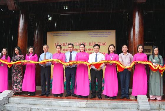 Saigontourist Group khánh thành, bàn giao 4 hạng mục đầu tư tài trợ tại Khu di tích Kim Liên ảnh 1